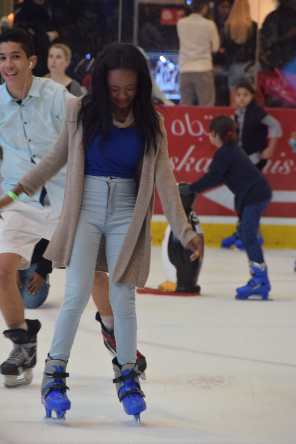 DUBAI: My first time Ice-skating