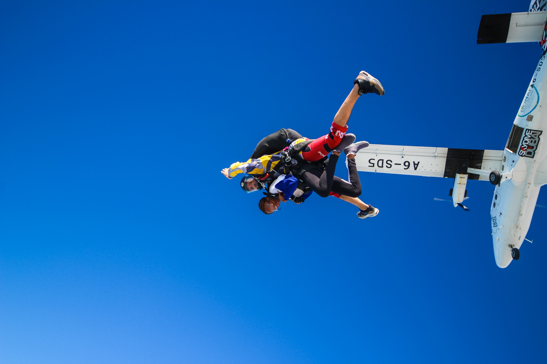 A guide to skydiving in Dubai